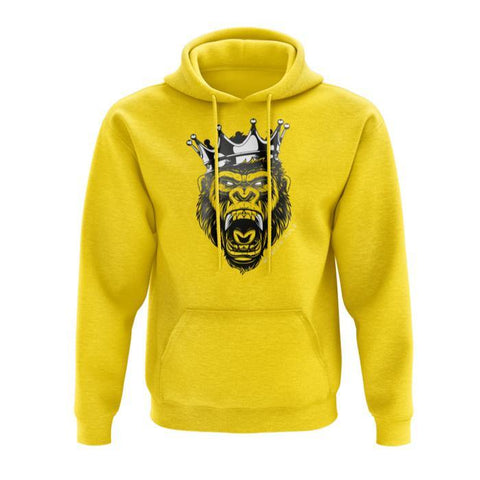 MUSCLE RULZ HOODIE (SUMMER YELLOW) - JNK Supplements