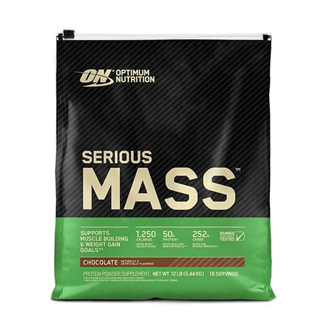 ON SERIOUS MASS CHOCOLATE PB 12LB - JNK Supplements
