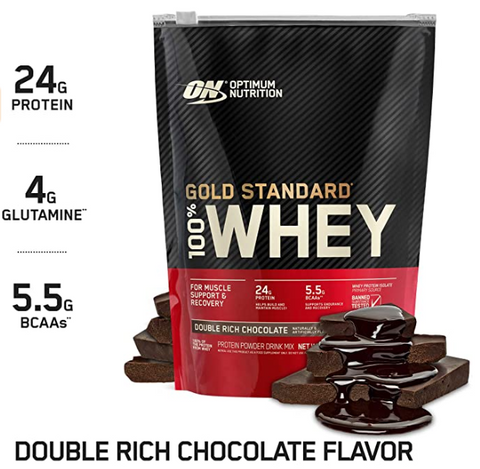 ON 100% WHEY GOLD DBL RICH CHOCOLATE 10 LBS - JNK Supplements