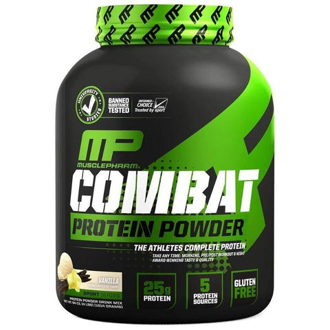 MUSCLEPHARM COMBAT PROTEIN POWDER 4LBS - JNK Supplements