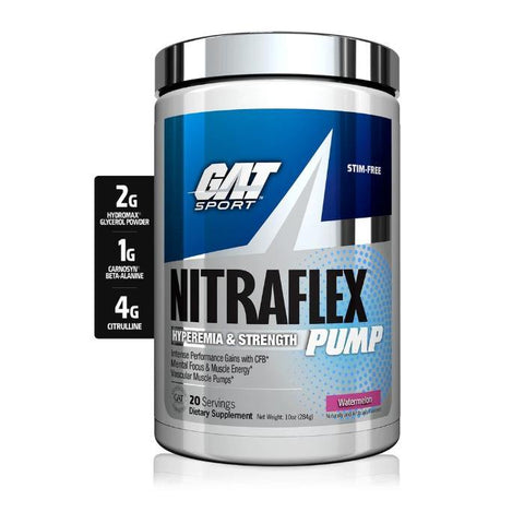 GAT NITRAFLEX PUMP 284GM - JNK Supplements