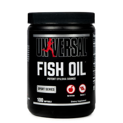 UNIVERSAL NUTRITION FISH OIL 100 SOFTGEL - JNK Supplements