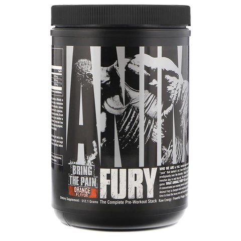 UNIVERSAL NUTRITION ANIMAL FURY - JNK Supplements