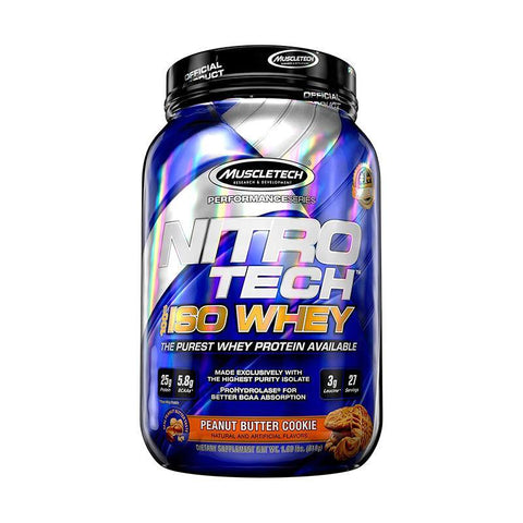MUSCLE TECH NITROTECH ISO WHEY 2LBS
