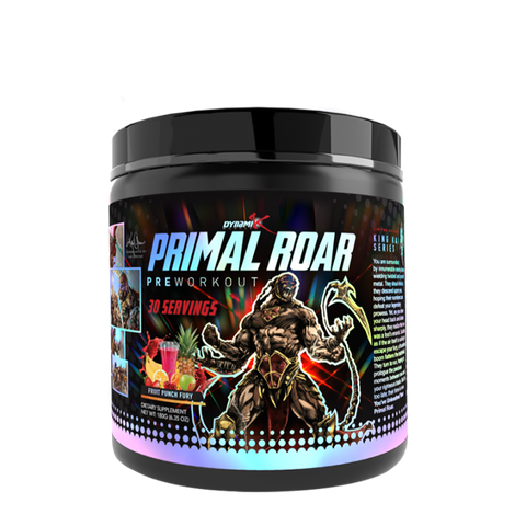 PRIMAL ROAR- NEW INTENSE PRE WORKOUT - JNK Supplements
