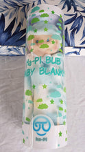 Load image into Gallery viewer, Ha-Pi Bub - Baby Security Blanket (White Baby Boy)