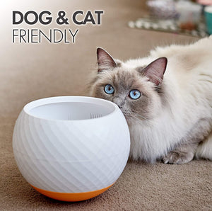 Large Wobble Dog Food Bowl for Dogs, Cats Pets