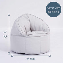 Load image into Gallery viewer, Premium Soft Canvas Kids Bean Bag Chair (Cover Only No Filling)
