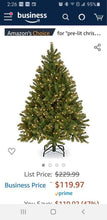 Load image into Gallery viewer, NEW 4.5 ft Christmas Tree with Lights