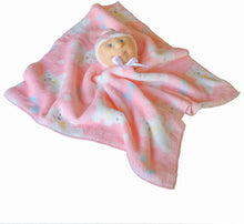 Load image into Gallery viewer, Baby Security Blanket (White Baby Girl) -Ha-Pi Bub