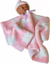 Load image into Gallery viewer, Baby Security Blanket (Ebony Baby Girl) - Ha-Pi Bub