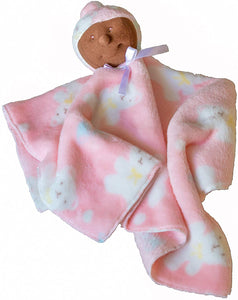 Baby Security Blanket (Ebony Baby Girl) - Ha-Pi Bub