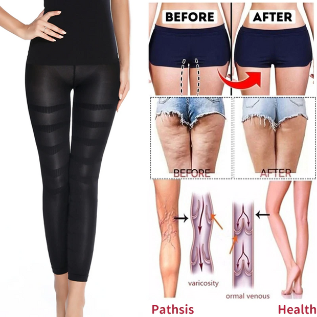 (50% OFF) Shapewear Anti Cellulite Compression Leggings