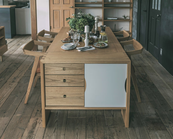 Patina,Dining Table(storage)