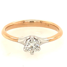 Martina Solitaire Diamond Ring