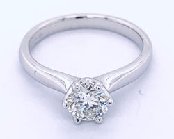 Aria Solitaire Diamond Ring 0.70Ct