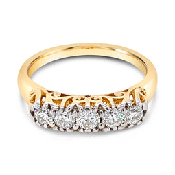Diamond London Bridge Ring