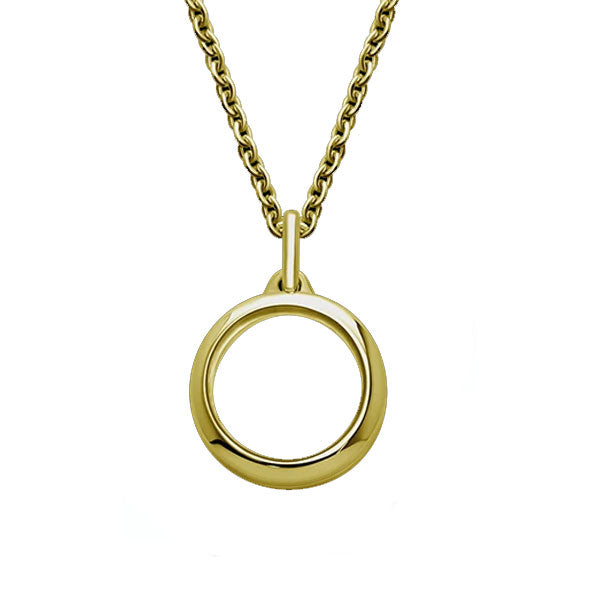 Yellow Gold Stow Locket 15Mm