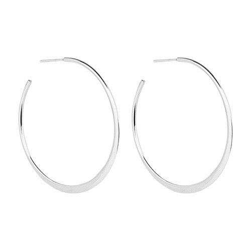 Najo Sterling Silver Hoop Earrings