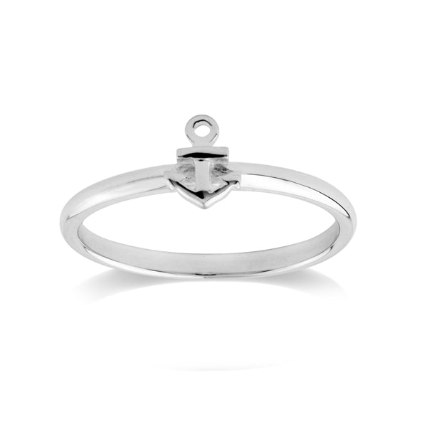 Anchor Ring Silver