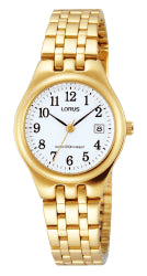 Ladies Gold Full Figure Watch