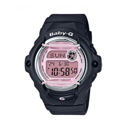 Casio Baby G Digital Matt Black & Pink