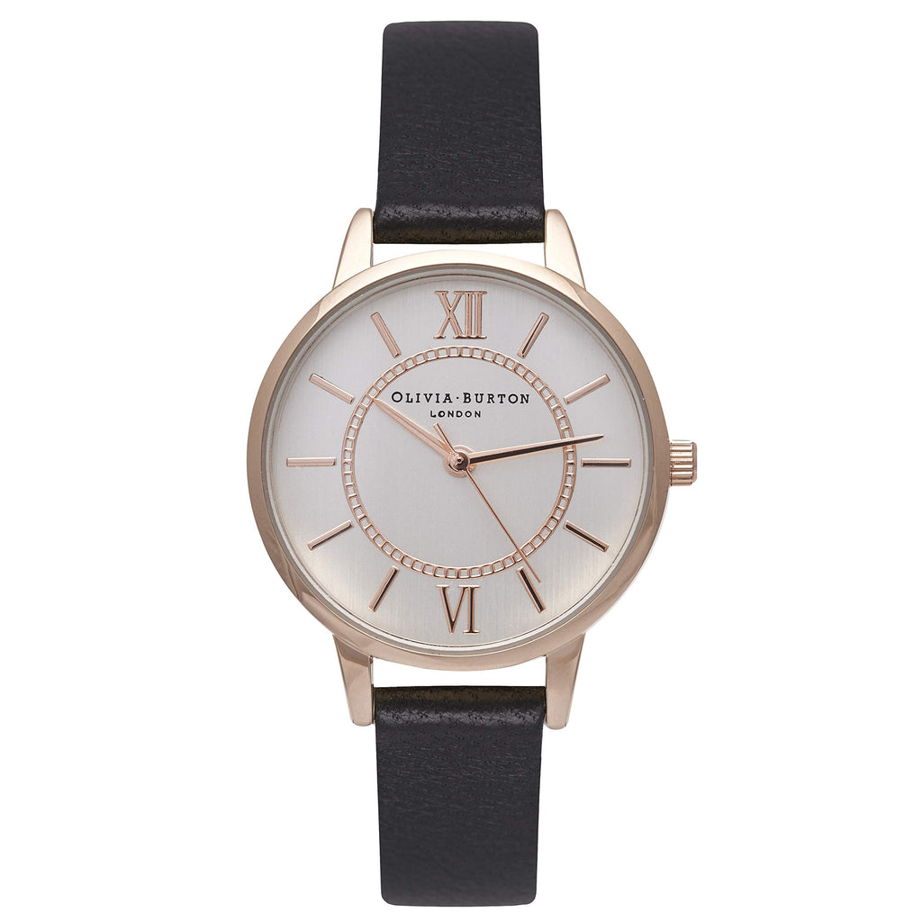 Olivia Burton Rose Gold Plated Sunray Watch