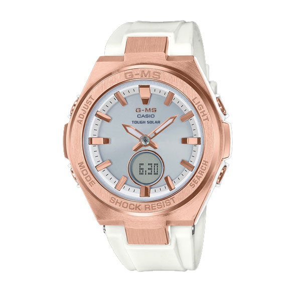 Baby G Pink Gold Tough Solar