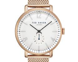Ted Baker Gold Mesh Strap Watch