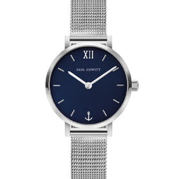Paul Hewitt Sailor Modest, Silver & Blue Lagoon Watch