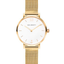 Paulo Hewitt Gold Modest Sailor Watch
