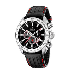 Festina Chronograph Sport Black Dial Watch