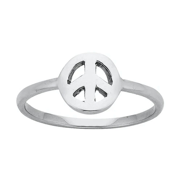 Karen Walker Mini Peace Ring Stg