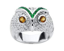 Karen Walker Owl Ring
