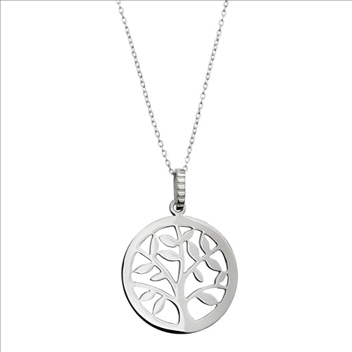 Najo Sterling Silver Tree Of Life Pendant