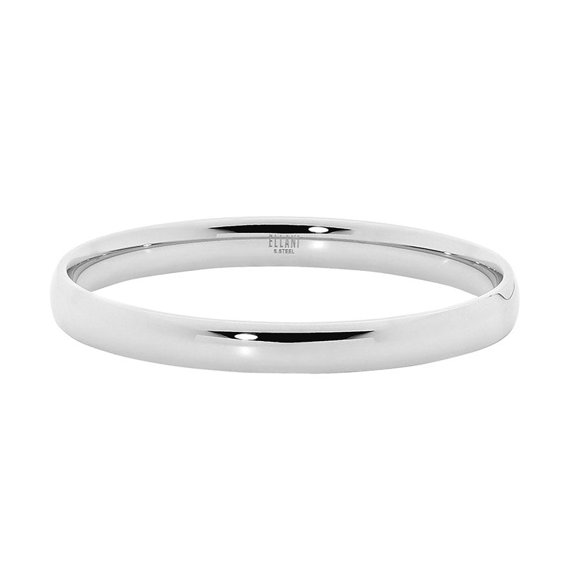 Stainless Steel 8Mm Wide Bangle
