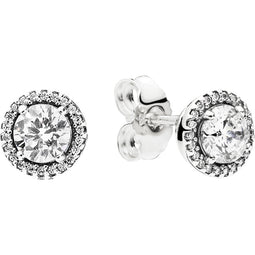 Classic Elegance Silver Earring Studs