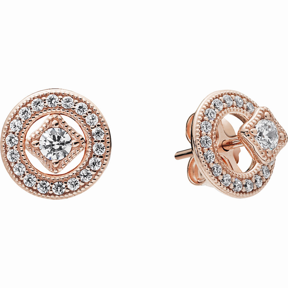 Pandora Rose Vintage Allure Stud Earrings