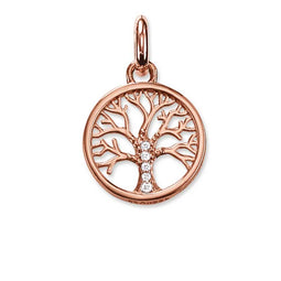 Tree Of Life Rose Gold Plated Pendant