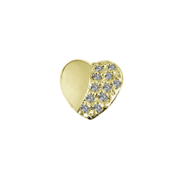 Stow Eternity Heart Forever Gold/Cz