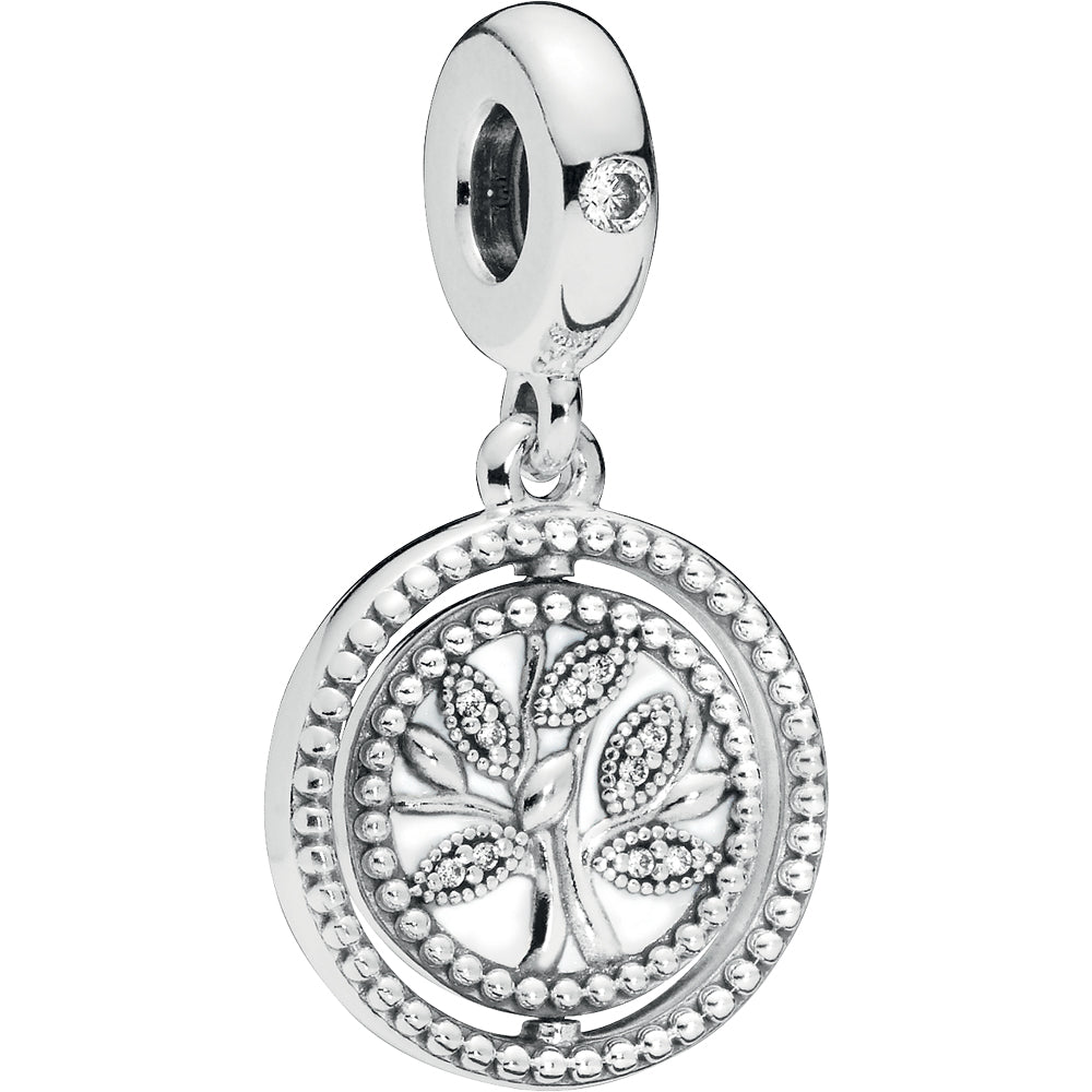 Spinning Pandora Tree Of Life Hanging Charm