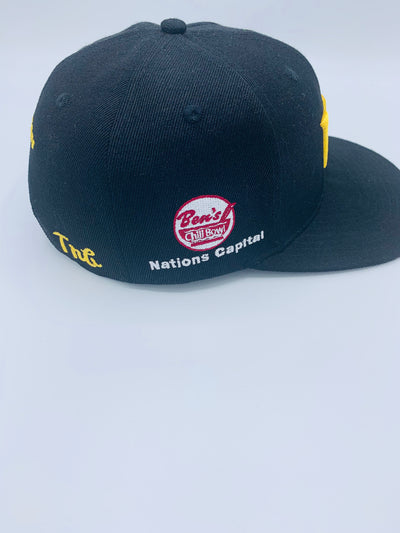 "Tribe Black ""Washington Football Team"" Snap back Crown. Homage to DC, Bens Chili Bowl, Super Bowl XXII"