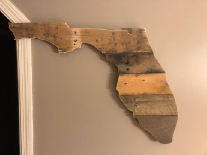 Handcrafted Florida Sign