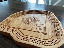 Load image into Gallery viewer, Busch Stadium Cribbage Board
