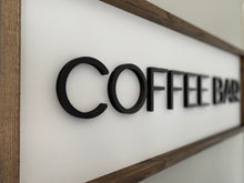 Load image into Gallery viewer, Coffee Bar Sign
