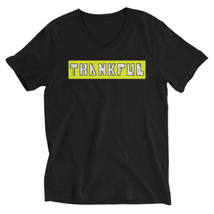Nia Fia THANKFUL V-Neck T-Shirt