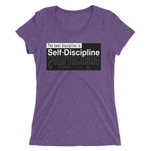 Load image into Gallery viewer, Nia Fia DISCIPLINE t-shirt
