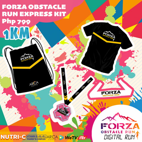 FORZA OBSTACLE DIGITAL RUN (1KM)