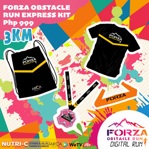 FORZA OBSTACLE DIGITAL RUN  (3KM)