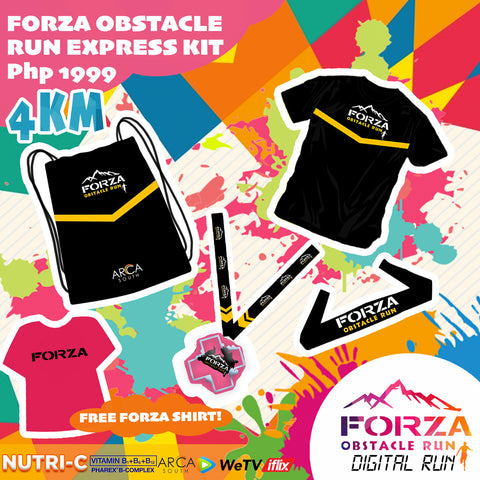 FORZA OBSTACLE DIGITAL RUN  (4KM)